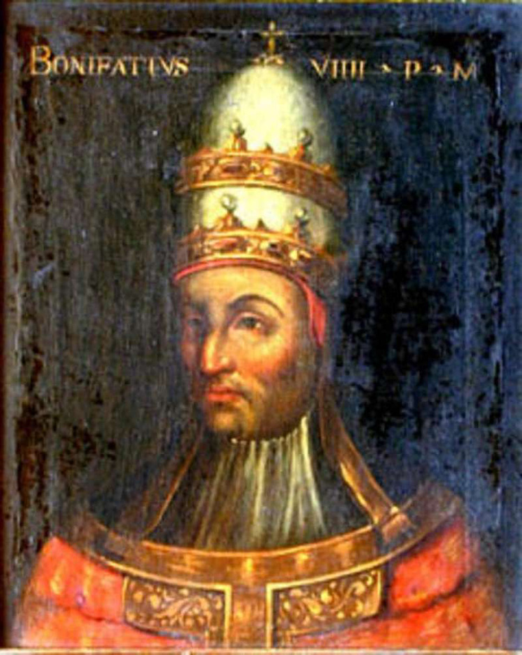 pope boniface viii papacy rome middle ages