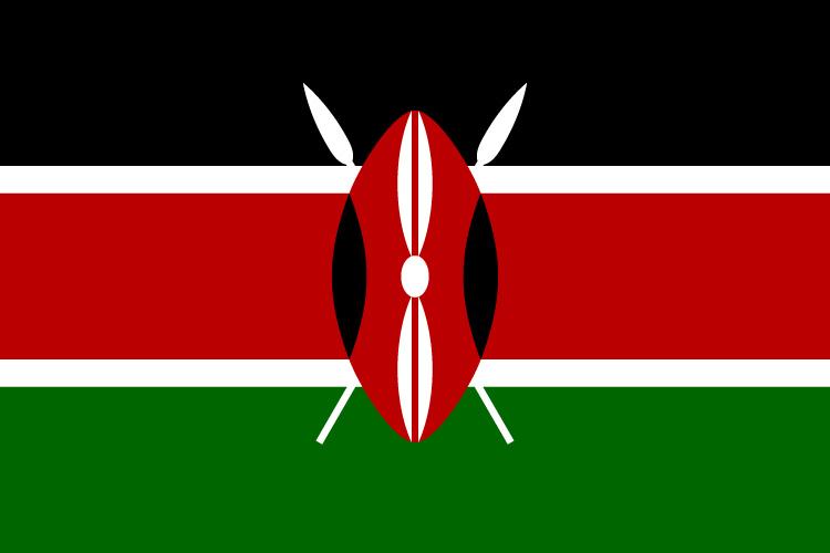 kenya flag independence