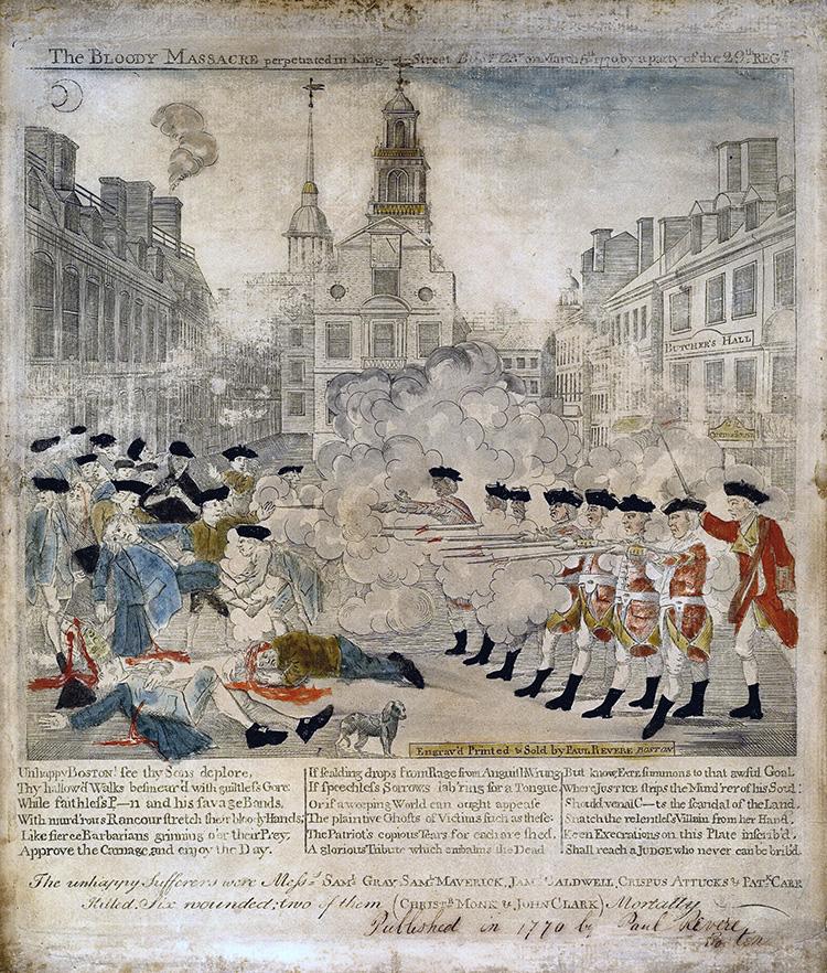 Boston Massacre 1770