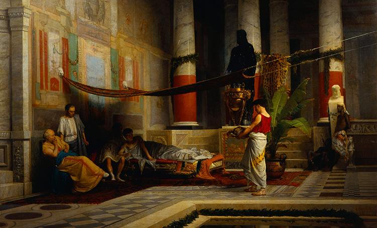 Poppaea_Brings_the_Head_of_Octavia_to_Nero_by_G.Muzzioli