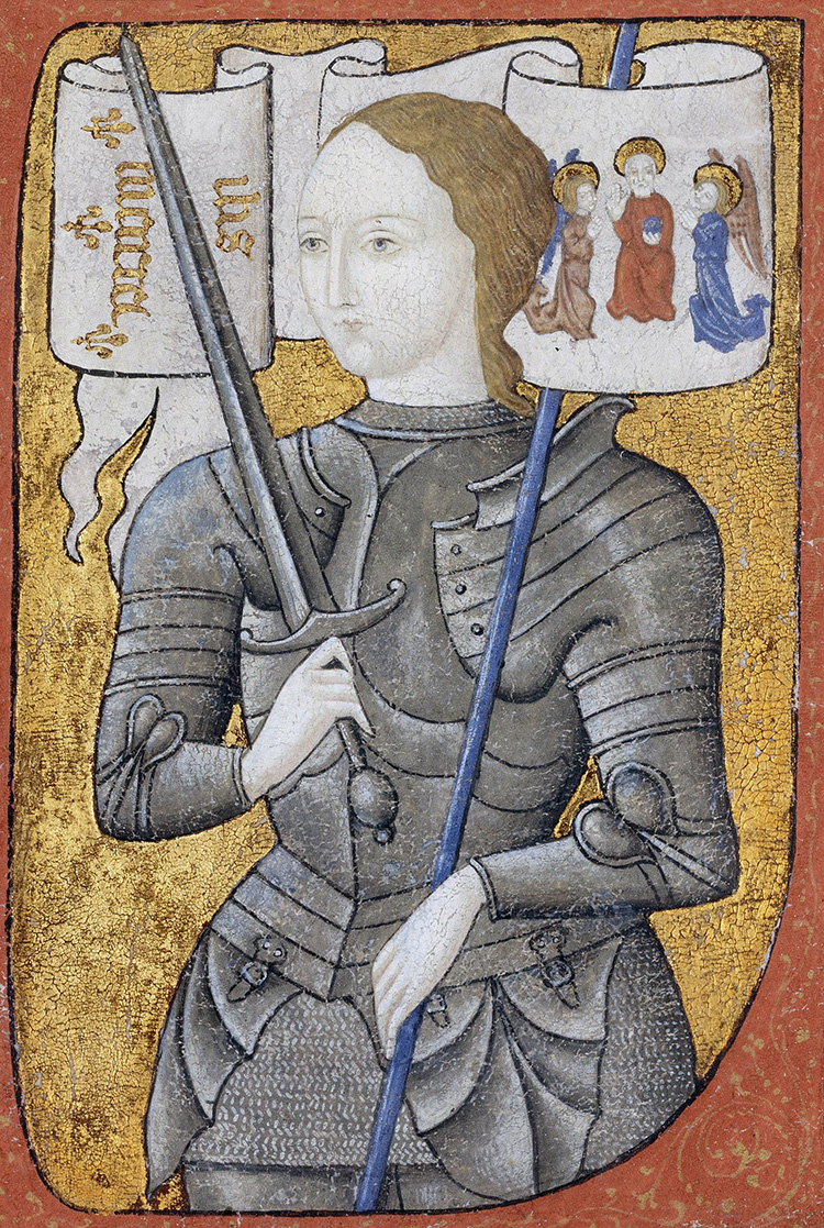 joan of arc charles vii saint heresy