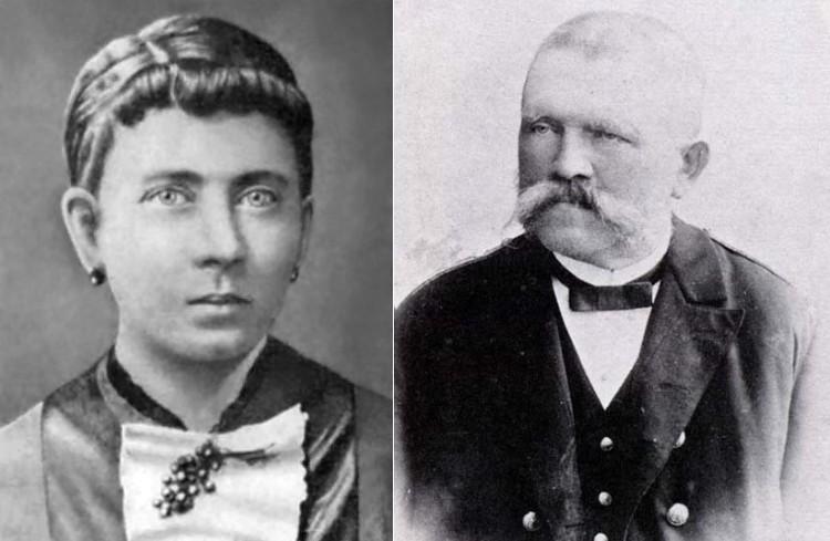 Hitler's parents - Klara and Alois Hitler