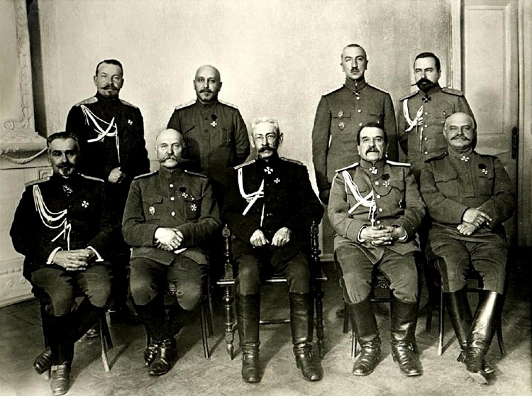 Russian generals in World War One