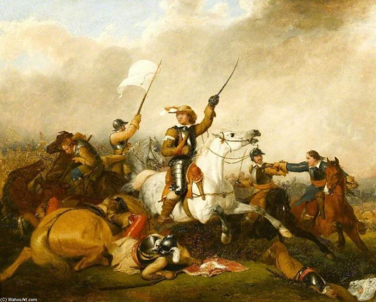 Oliver Cromwell Marston Moor