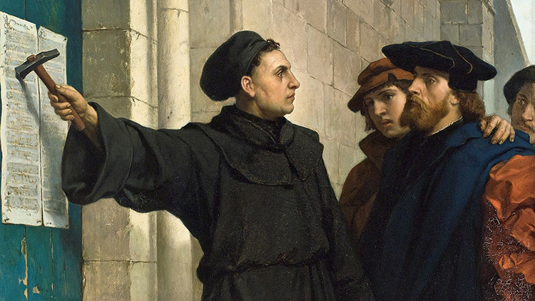 martin luther 96 theses wittenberg