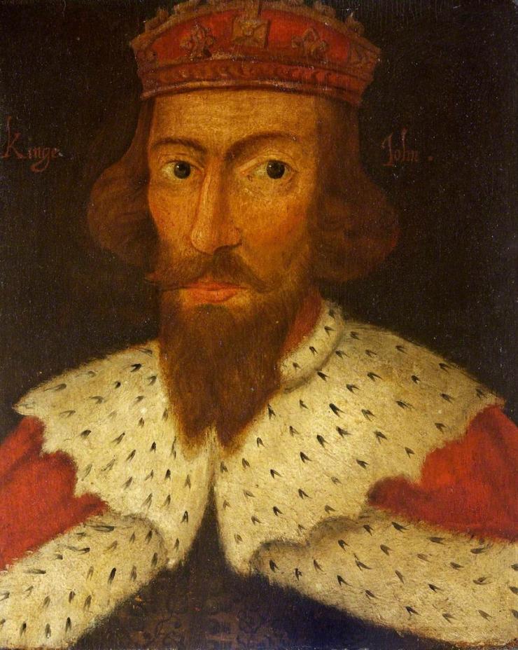 king john portrait magna carta