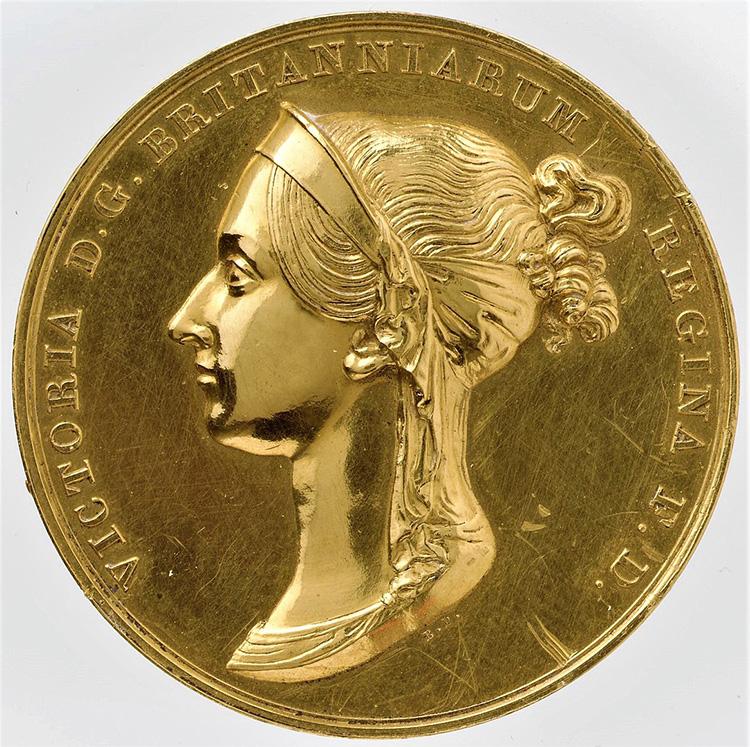 queen victoria coronation medal royal mint
