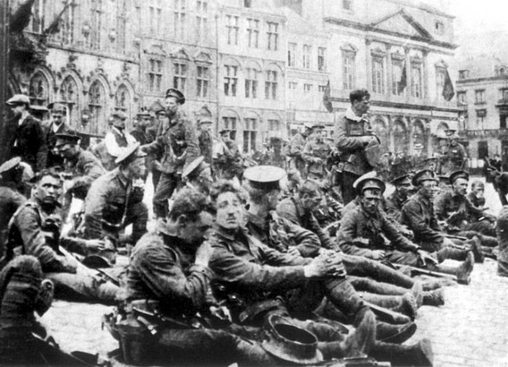 4th Batallion Roya Fusiliers - 22 August 1914, Mons
