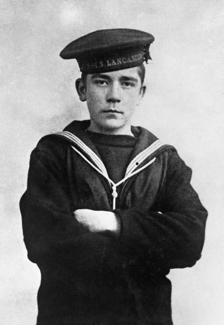 Boy Seaman Jack Cornwell VC