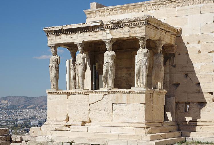 acropolis south athens greece elgin