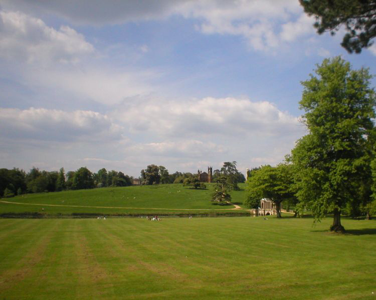 stowe house landscape gardens palladian temple