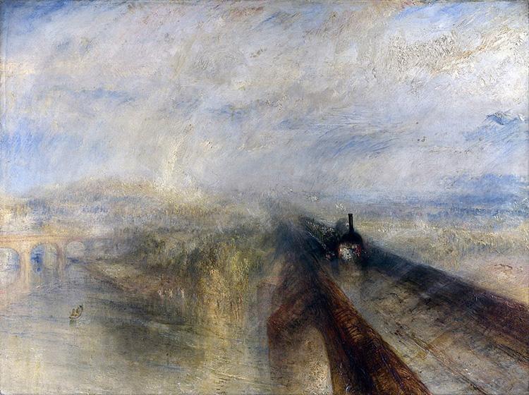 turner gwr romanticism rain steam speed victorian