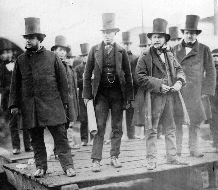 Isambard_Kingdom_Brunel_preparing_the_launch_of_the_Great_Eastern