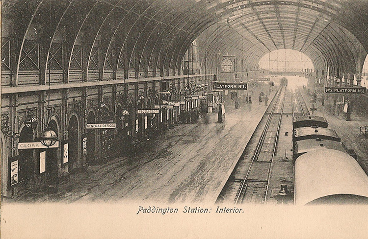 Victorian-Postcard-Paddington-Station