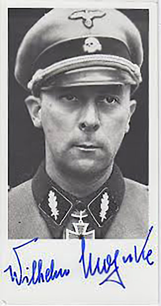 SS-Brigadeführer Wilhem Mohnke. Image source: Sayer Archive.