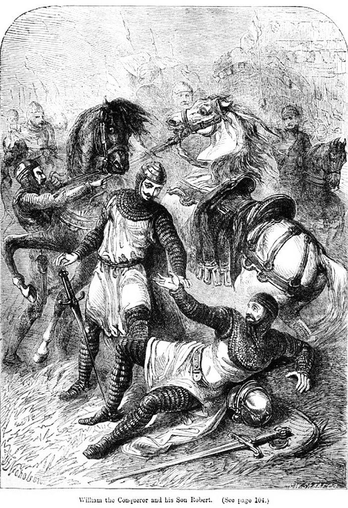 William the Conqueror and Robert