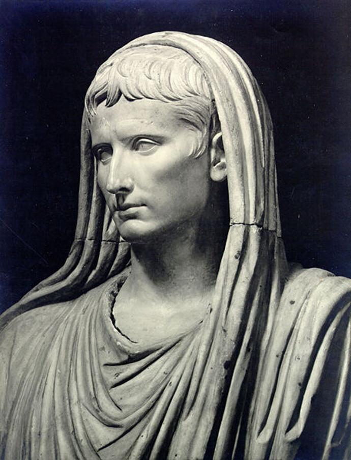 Emperor Augustus as Pontifex Maximus