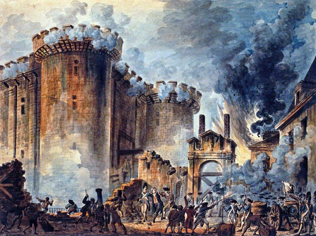 Prise de la Bastille Jean-Pierre Houël