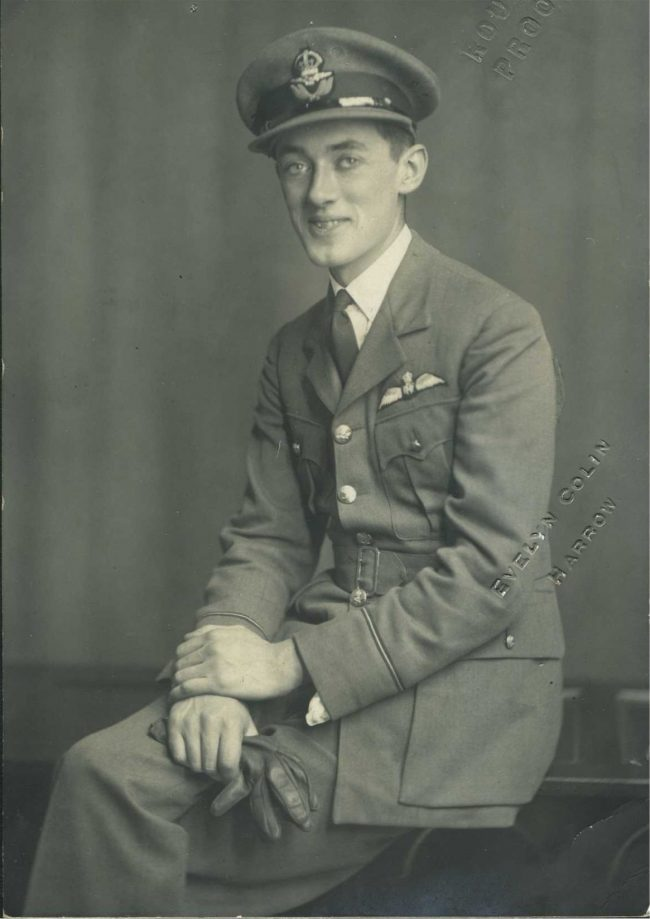 Flight Lieutenant Brian Lane – whose leadership of 19 Squadron during the Dunkirk fighting, after Stephenson was lost, was recognised with an early DFC.