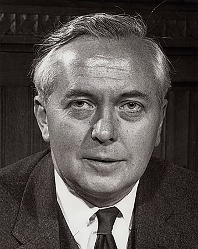The Sexual Offences Act of 1967 was brought in by Harold Wilson's government.