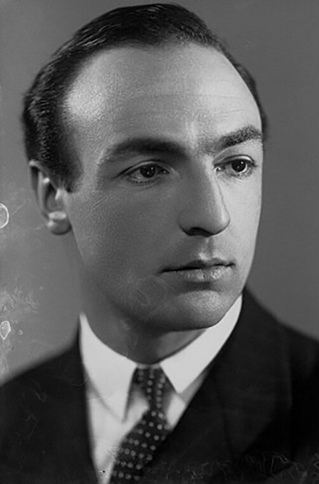 Profumo as a younger man.