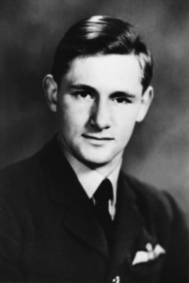 Pilot Officer Michael Lyne.
