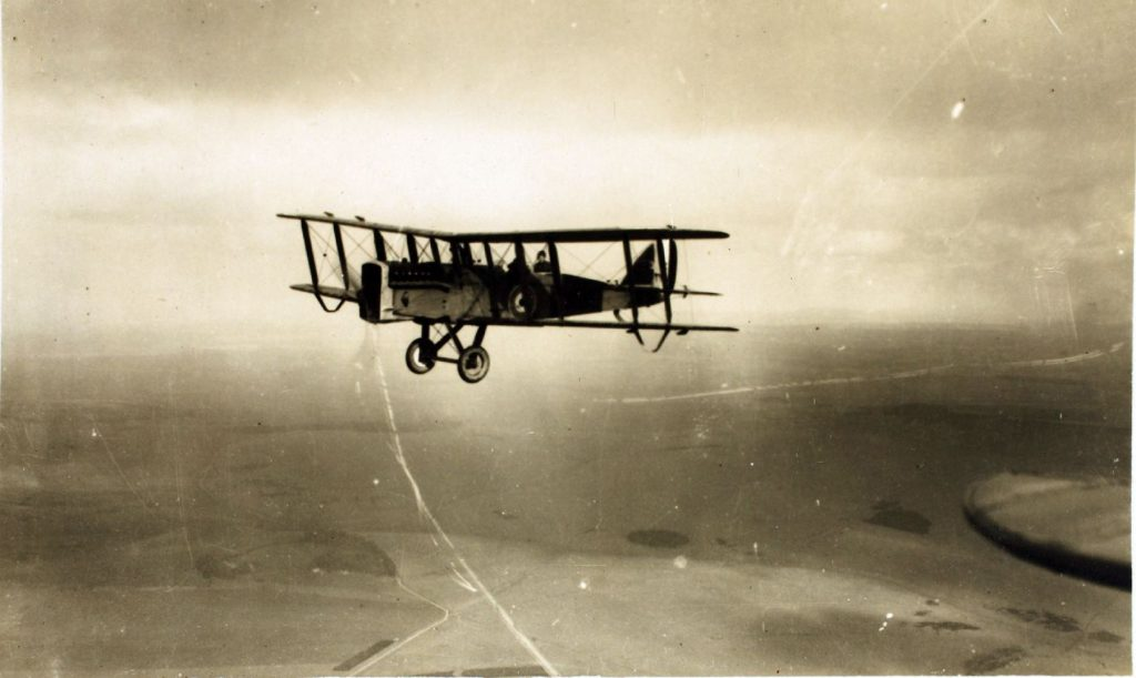 DH9a over Iraq