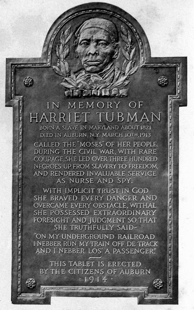 https://en.wikipedia.org/wiki/File:Harriet_Tubman_plaque_Auburn,_NY.jpg