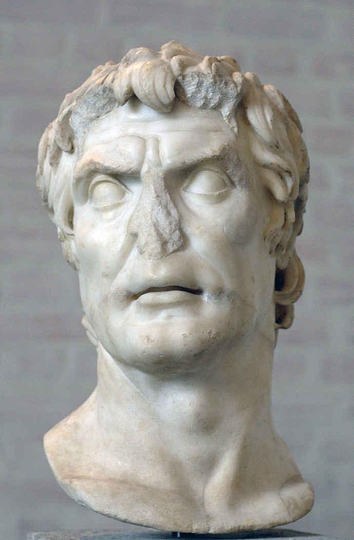 Bust of Sulla, Ancient Roman dictator