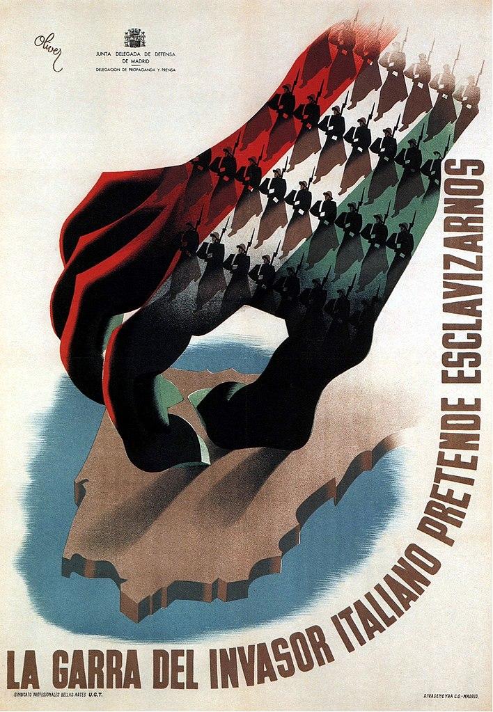 Spanish Republican propaganda poster
