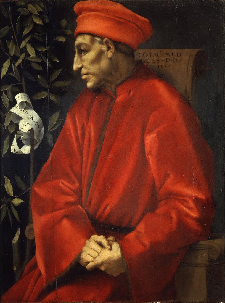Portrait of Cosimo de' Medici the Elder