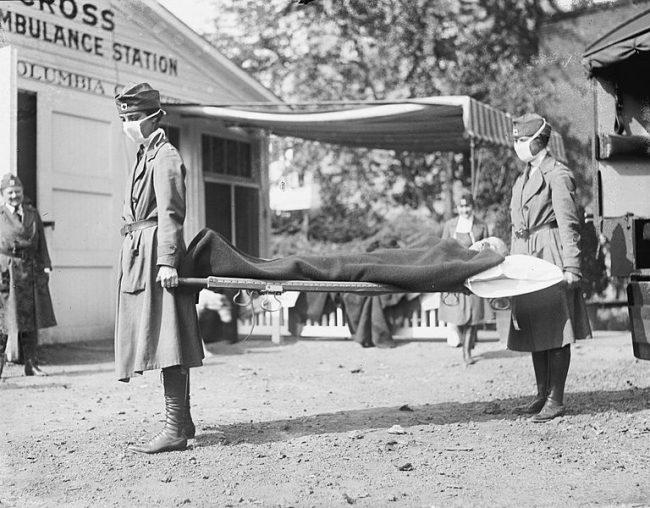 1918 flu outbreak