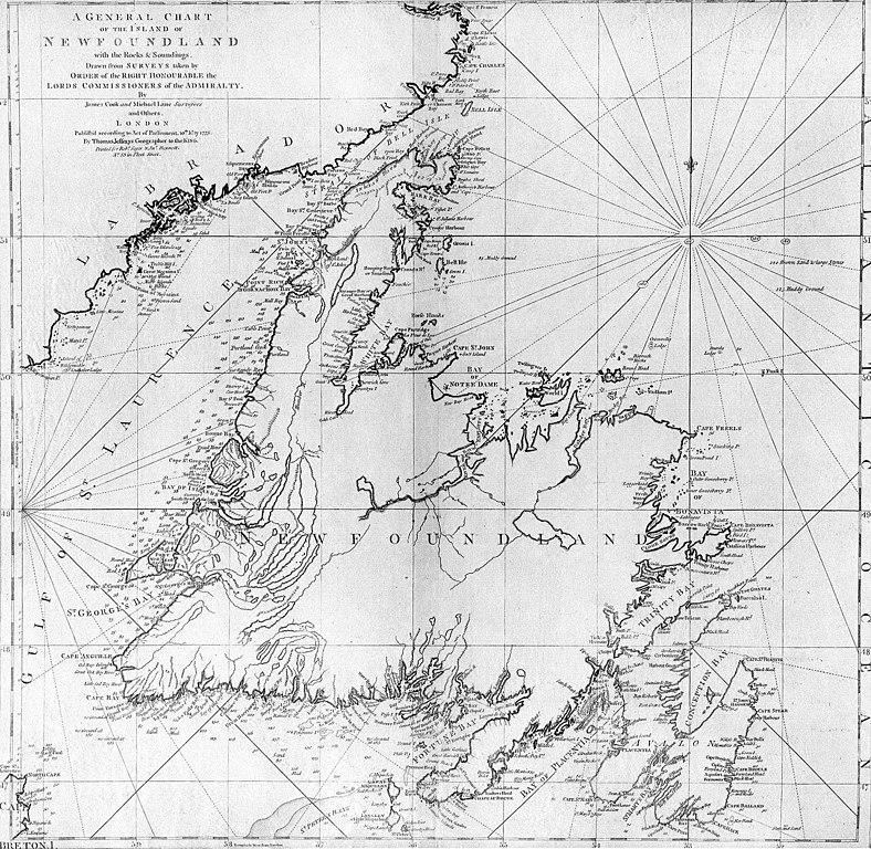 James Cook Newfoundland