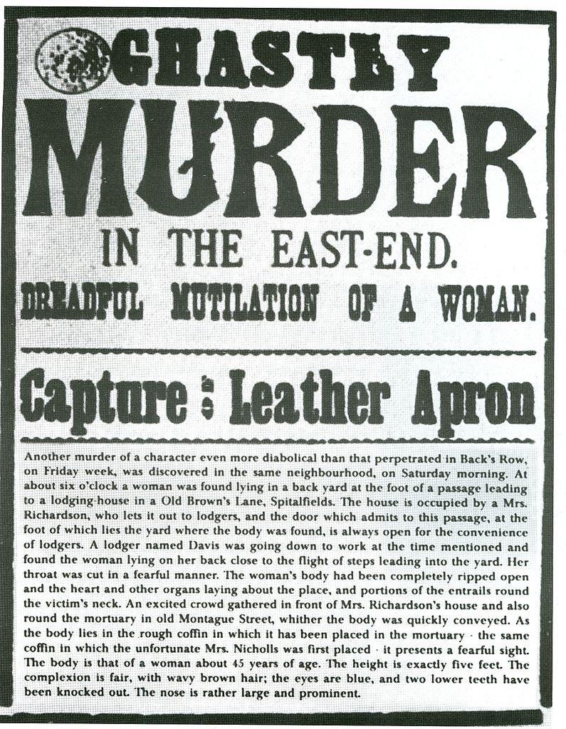 Jack the Ripper newspaper