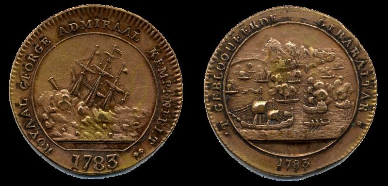 Royal George medallion