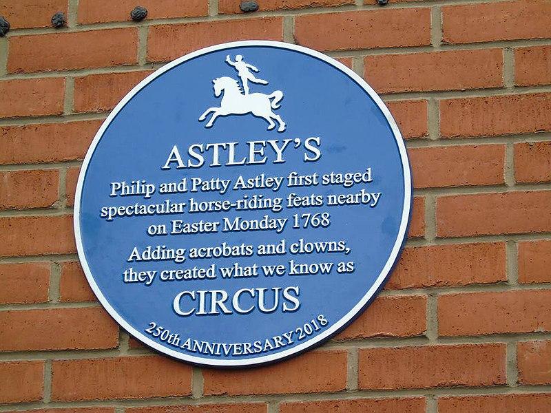 Astley plaque