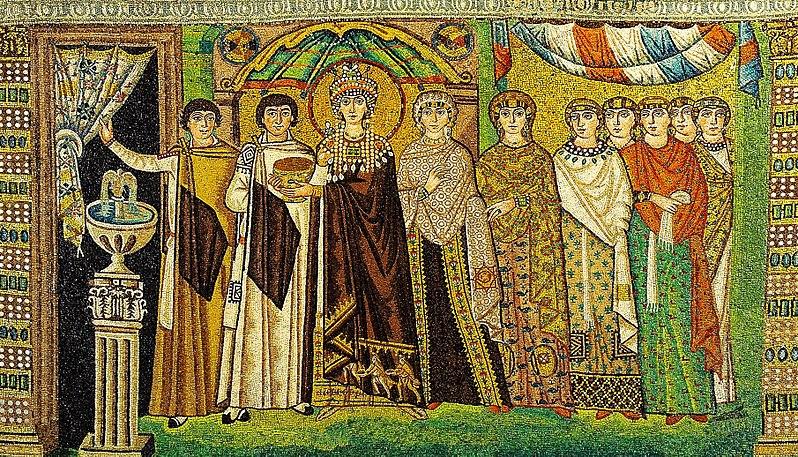 Mosaic of Theodora
