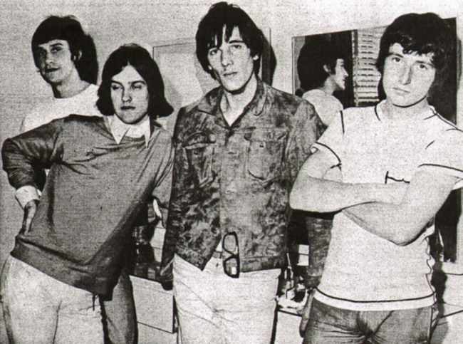 The Kinks in 1966.