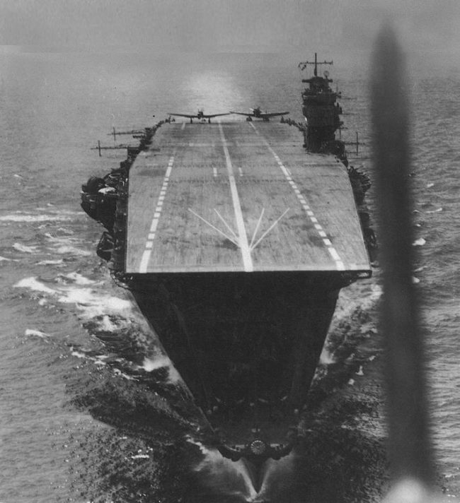 More details Akagi, the flagship of the Japanese carrier striking force which attacked Pearl Harbor, as well as Darwin, Rabaul, and Colombo, in April 1942 prior to the battle.