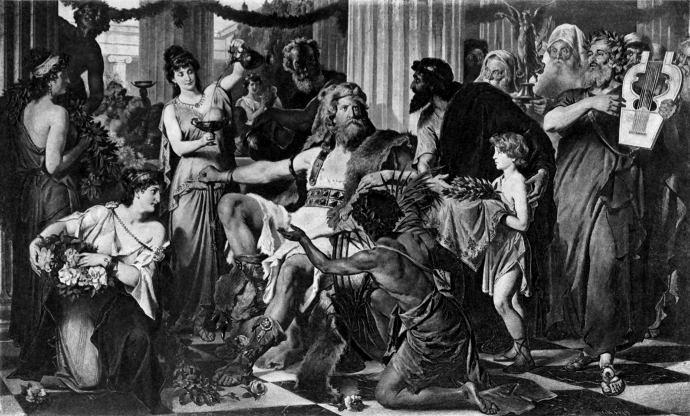 Alaric the Visigoth in Greece