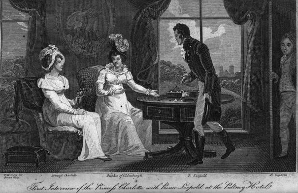 Charlotte and Leopold