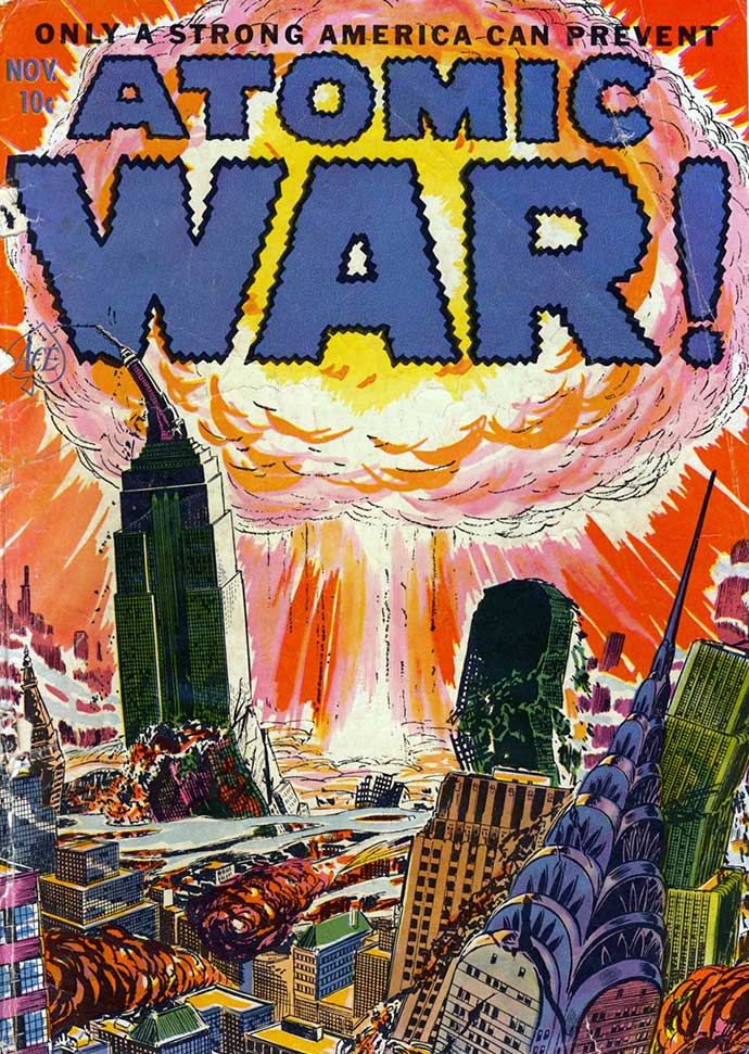 survive atomic attack