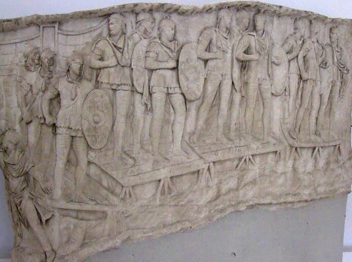 Auxilia on Trajans column