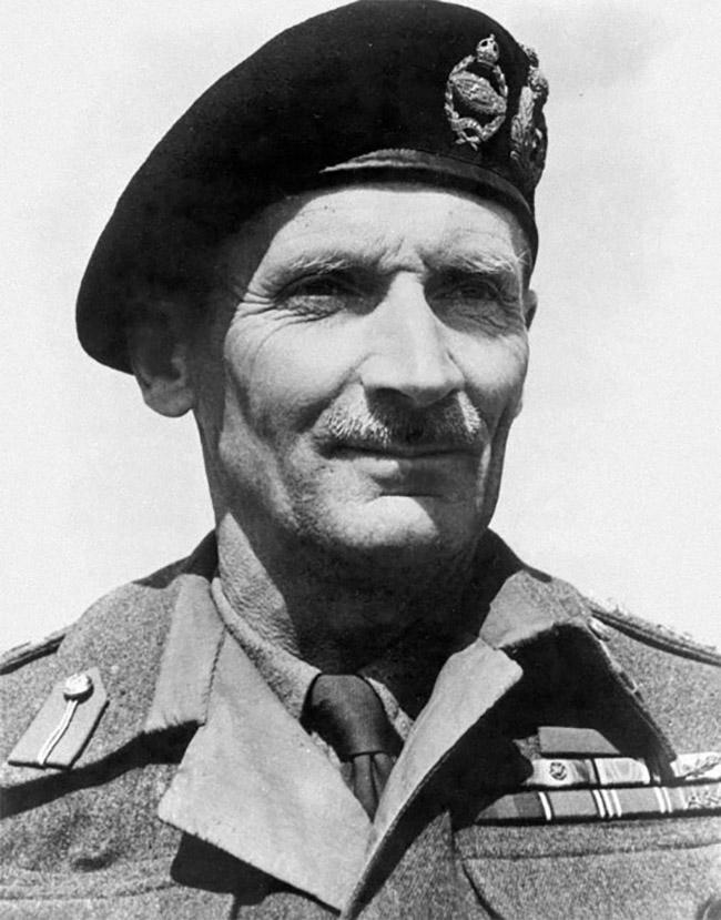 Field Marshal Sir BernardField Marshal Sir Bernard Montgomery Montgomery