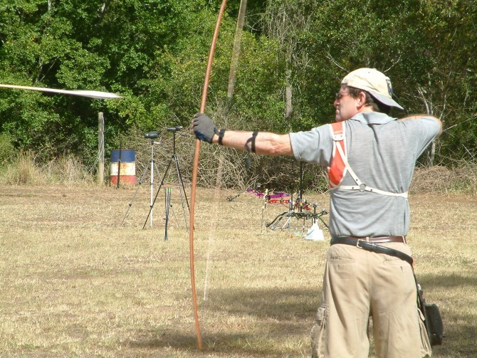 The longbow continues to be used for sport and exhibitions to this day.