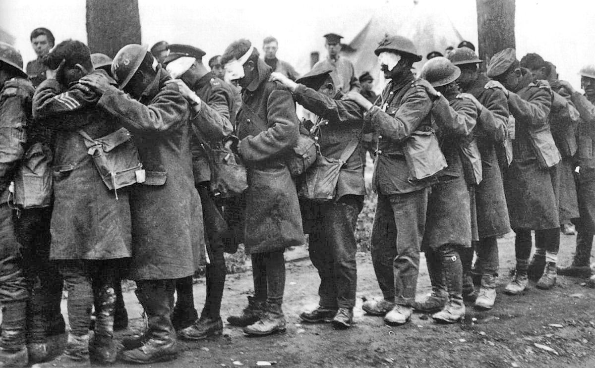 British_55th_Division_gas_casualties_10_April_1918