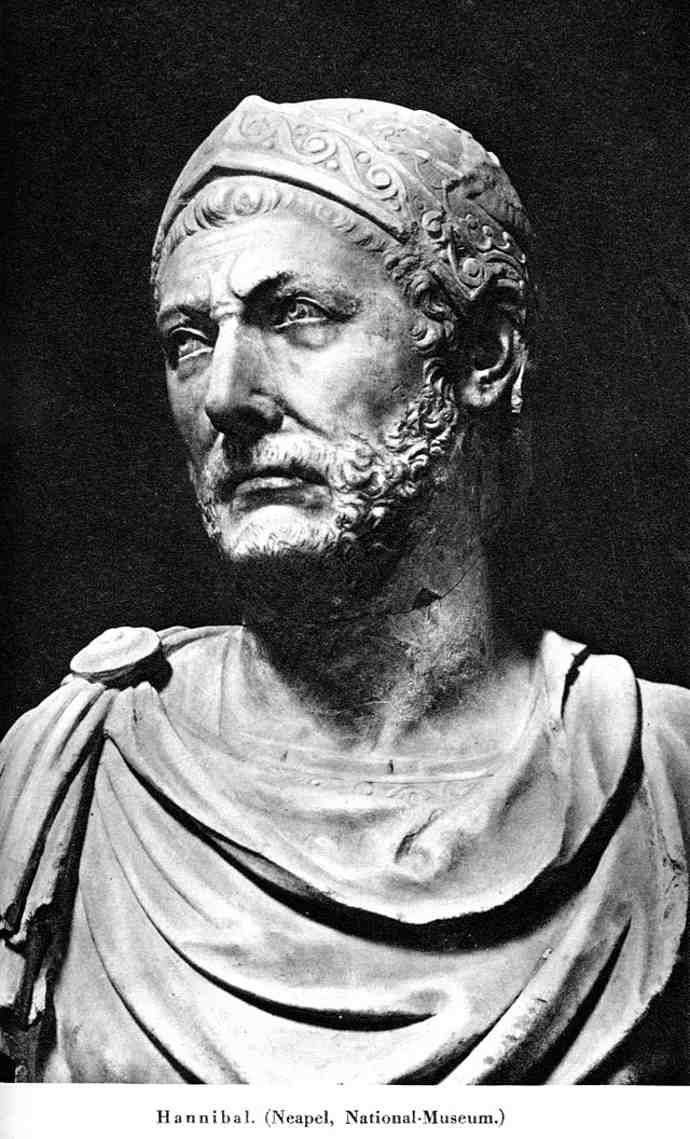 Bust probably of Hannibal