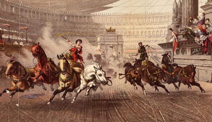 Ancient Roman chariot racing