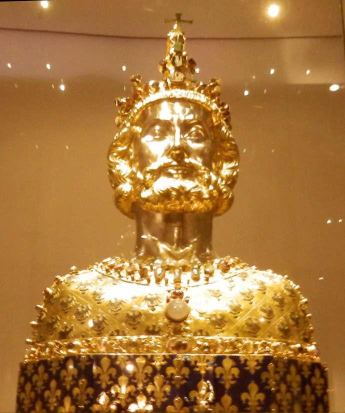 Charlemagne treasure