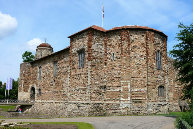Colchester Castle.